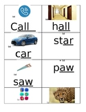 long/short/irregular vowel cards with pictures