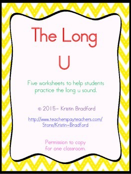 long u worksheets
