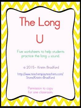 long u worksheets
