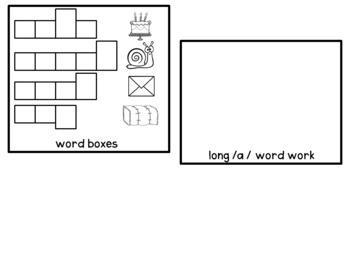 long vowel flip books