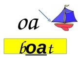 long vowel oa practice