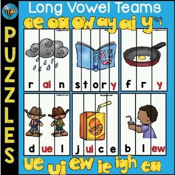 Long Vowel Teams Puzzles