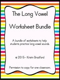 long vowel worksheets