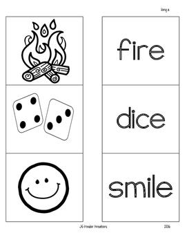 Phonics Practice pages long vowels