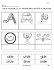 Phonics Practice pages long vowels