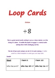 loop cards division 8 tables