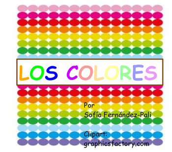 los colores for young kids