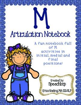 /m/ Articulation Notebook!