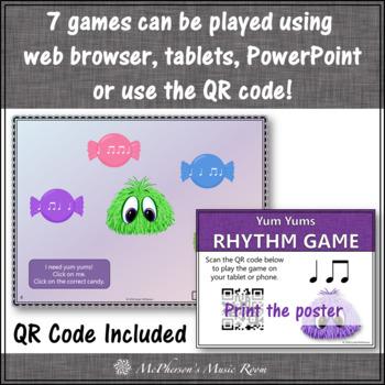 Yum Yums!  Interactive Rhythm Games - Bundle