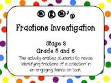 m&m's Fractions