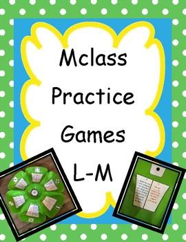 mCLASS Practice Game Levels L-M