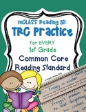 Written Comprehension Practice (Common Core Aligned - 1st Grade) mCLASS: TRC