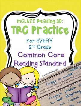 Written Comprehension Practice (Common Core Aligned - 2nd Grade) mCLASS: TRC