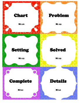 mCLASS Reading 3D Written Vocabulary Flash Cards