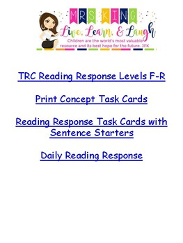 mCLass TRC Reading A to Z Levels H and I