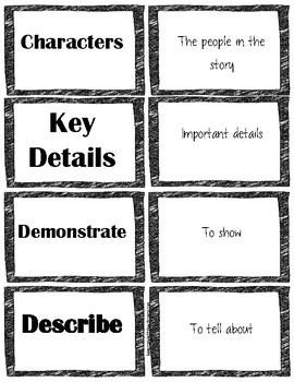 mClass 3D Reading Written Comprehension Vocabulary Flash Cards With Definitions