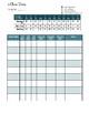 mClass Class Data Recording Sheet