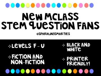 mClass Comprehension Stem Question Fans