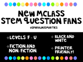 mClass Comprehension Stem Question Fans
