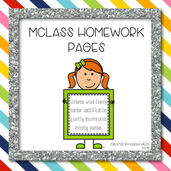 mClass Homework Practice for Kindergarten and First Grade