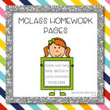 mClass Homework Practice for Kindergarten and First Grade
