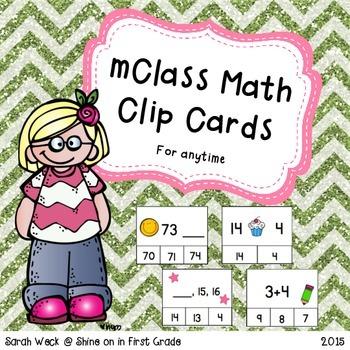 mClass Math Clip Cards