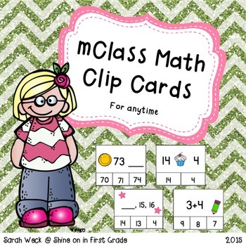 mClass Math Clip Cards