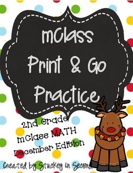 mClass Math PRINT AND GO Practice-2nd Grade-DECEMBER