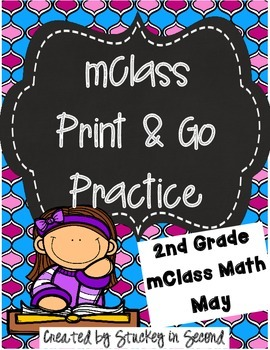 mClass Math PRINT AND GO Practice-2nd Grade-May
