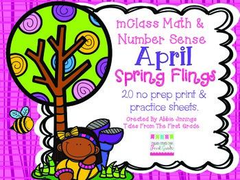 mClass Math and Number Sense April Spring Flings