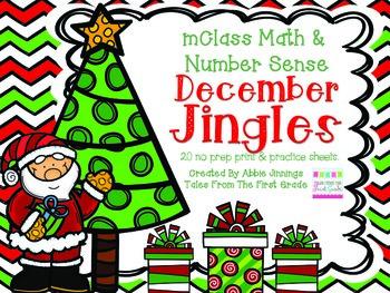 mClass Math and Number Sense December Jingles