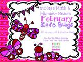 mClass Math and Number Sense February Love Bugs