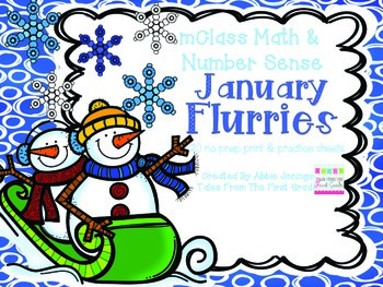mClass Math and Number Sense January Flurries