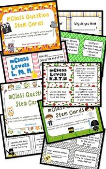mClass Question Stem Cards Bundle--10 themes