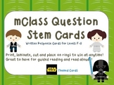 mClass Question Stem Cards-Star Wars  theme