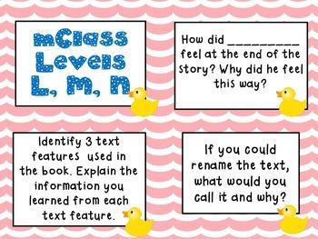 mClass Question Stem Cards-ducks