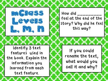 mClass Question Stem Cards-moroccan tile theme