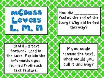 mClass Question Stem Cards-moroccan tile theme