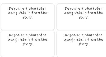 mClass Question Stems for Levels G-K