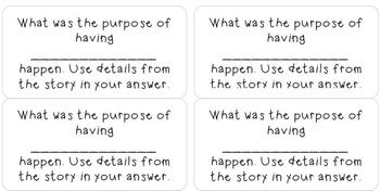 mClass Question Stems for Levels O-Q