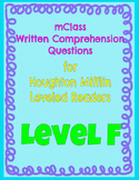 mClass Question Pack for Houghton  Mifflin Leveled Readers