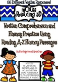 mClass Reading 3D TRC Written Comprehension Using Reading A-Z Fluency Level F-M