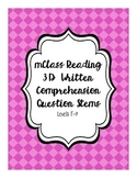 mClass Reading 3D Written Comprehension Question Stems