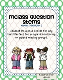 mClass Student Response Question Stems