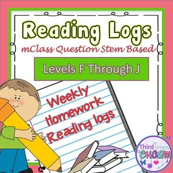 mClass Written Response Levels F-J