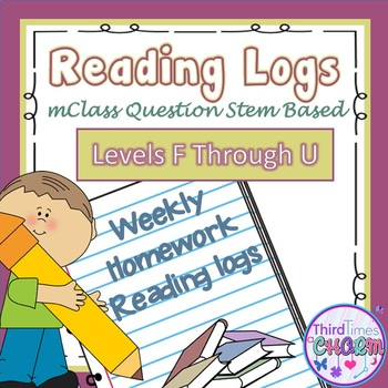 mClass Written Response Reading Logs