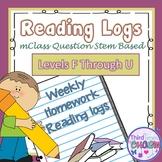 mClass Written Response Reading Logs