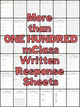 mClass Written Response Resource
