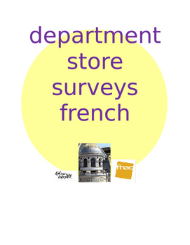 magasin survey FRENCH