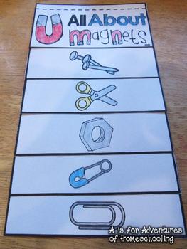 magnets flip book